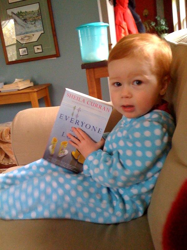 Cora mae reading my book